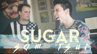 getlinkyoutube.com-Sugar (Maroon 5) - Sam Tsui & Jason Pitts Acoustic Cover