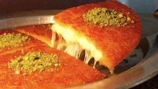 Konafa Cheese اسهل طريقة تحضير كنافة نابلسية بالجبنة السائحة