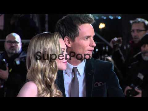 Amanda Seyfried and Eddie Redmayne at the World Premiere ...