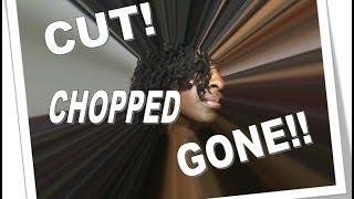 getlinkyoutube.com-NappNine Cuts Her Sisterlocks