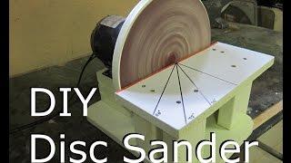 getlinkyoutube.com-Disc Sander - Make DIY Build