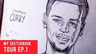 My Sketchbook Tour Ep. 1