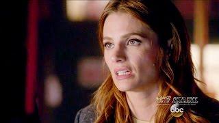 "getlinkyoutube.com-Castle 8x08  Beckett Worried She Nuked Her Marriage  & The Phone Talk #2 ""Mr. & Mrs. Castle"""