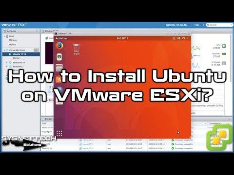 vSphere ile Ubuntu Kurulumu