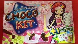 getlinkyoutube.com-ของเล่นเลียนแบบ,ของเล่นญี่ปุ่น,กินได้, ราคาถูก Choco Kit