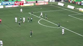 Sakaryaspor'un 2-0'lık galibiyetinin özeti