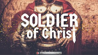 getlinkyoutube.com-Roman soldier and the Soldier Of Christ - with real Roman Armour Christadelphians