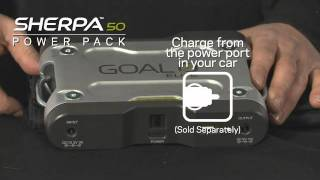 getlinkyoutube.com-Sherpa 50 Adventure Kit, Portable Battery, Portable Solar Panel