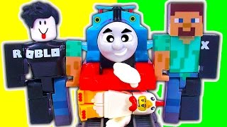 ROBLOX Figure Packs Series 1 Thomas Trackmaster Train Wreck John Doe FREE CODES