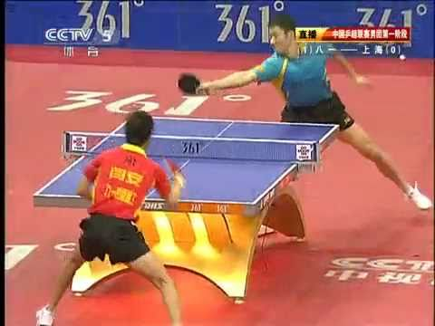 2011 Chinese Super League @CCTV : YAN An - WANG Liqin [Full Match 1/2]