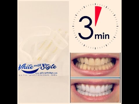 بيضت اسناني في 30 دقيقة فقط / تجربتي مع white with style