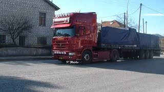 getlinkyoutube.com-Scania 164 580 Papadopoulos Straight Pipe Sound