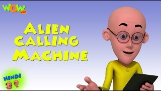 getlinkyoutube.com-Alien Calling Machine - Motu Patlu in Hindi