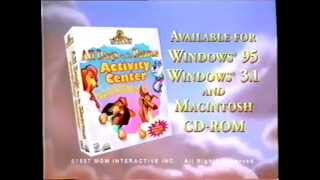 getlinkyoutube.com-All Dogs Go To Heaven Activity Center (1997) Promo (VHS Capture)