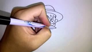 getlinkyoutube.com-สอนวาดรูป การ์ตูน ลูฟี่ วันพีช