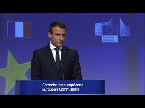 A Bruxelles, Macron se défend d'être un
