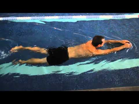 Front Crawl Swimming Drills - Legs Only