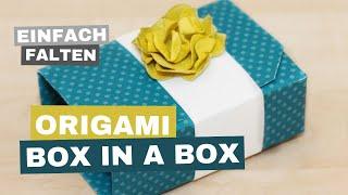 getlinkyoutube.com-Tutorial - Origami Box in a Box - English Subtitles / Deutsche Untertitel