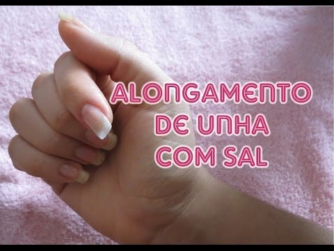 Tutorial: Alongamento de Unhas com Sal