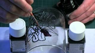 getlinkyoutube.com-Glass Painting: 3d Objects
