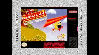 Pac-Man 2: The New Adventures (SNES) 3rd Mission (Part 1/2)
