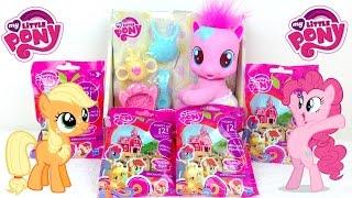 getlinkyoutube.com-Обзор Игрушек: Мой Маленький Пони Малышка Пинки Пай и Пакетики с Сюрпризами My Little Pony Baby