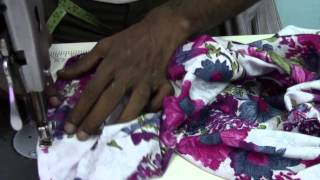 getlinkyoutube.com-Plazzo Pant - 3. Stitching