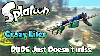 getlinkyoutube.com-Splatoon - When DUDE Snipes he doesn't miss! (Crazy E-Liter Game!)