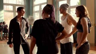 The dance teacher is showing his talent in Step up all in 2014