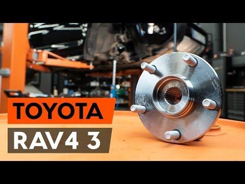 Как заменить передний подшипник ступицы TOYOTA RAV 4 3 (XA30) [ВИДЕОУРОК AUTODOC]