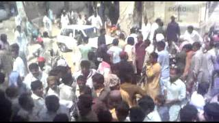 fight between jsqm and mqm in sakrand satation raod