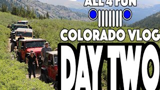 getlinkyoutube.com-Hitting The Trails! - Jeep Offroading Adventure Day Two