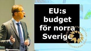 EUInMyRegion - Hur står sig norra Sverige i pågående budgetdiskussion?