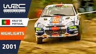 getlinkyoutube.com-WRC Highlights: Portugal 2001: 52 Minutes