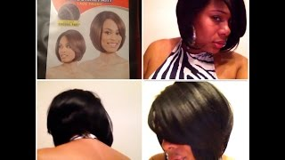 getlinkyoutube.com-MODEL MODEL Deep  INVISBLE  DIAGONAL PART  Lace Front Wig