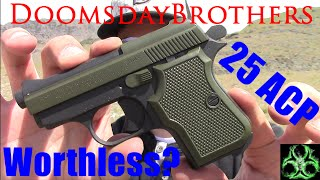 getlinkyoutube.com-25 ACP: Waste of Space or Lifesaver? - ARMI Tanfoglio Review