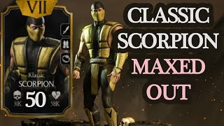 getlinkyoutube.com-Classic Scorpion MAXED OUT. His spear is AWESOME!!!