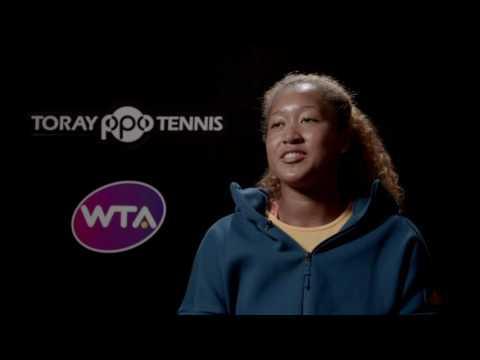 Naomi Osaka 2016 Toray Pan Pacific Open Final Interview