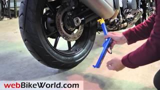 getlinkyoutube.com-Snapjack Portable Motorcycle Lift Jack