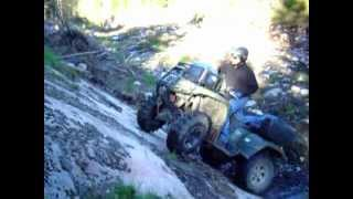getlinkyoutube.com-Arctic cat diesel extreme hill climbing