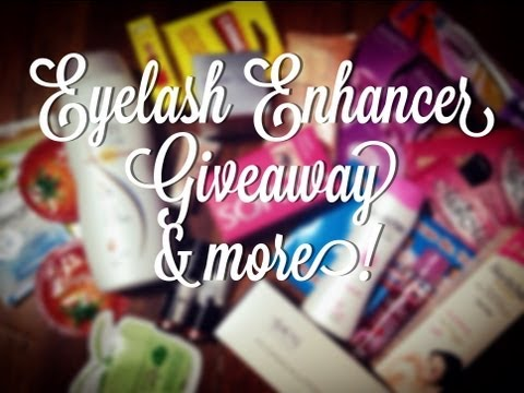 Sophia Eyelash Enhancer Giveaway & More | rarevanity