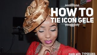getlinkyoutube.com-How To Tie gele/ Nigeria Icon Gele/ Africa fashion part 2