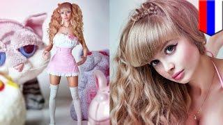 ロシアのリアル・バービー人形は、超箱入りの美人モデル