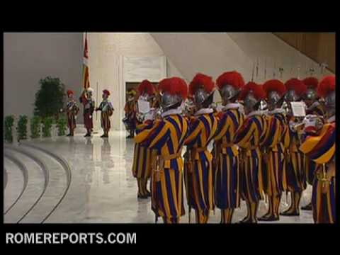 31 new Swiss Guards sworn in at the Vatican