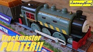 getlinkyoutube.com-Unboxing PORTER! Thomas & Friends Trackmaster Toy Train