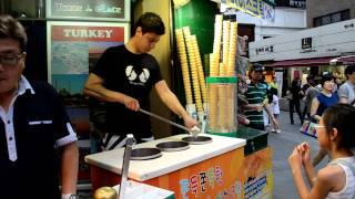 getlinkyoutube.com-Turkish Ice Cream in South Korea