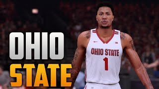 getlinkyoutube.com-NBA 2K16 Ohio State Court & Jersey Tutorial