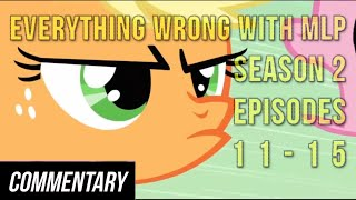 getlinkyoutube.com-[Blind Commentary] Everything Wrong With MLP Season 2, Episodes 11-15