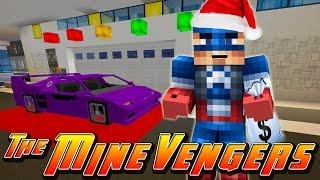 getlinkyoutube.com-Minecraft MineVengers - CHRISTMAS SHOPPING FOR IRON-MAN!!