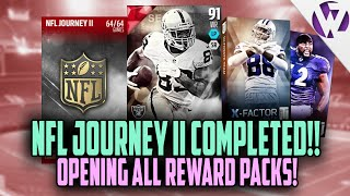 getlinkyoutube.com-Madden 16 NFL JOURNEY 2 COMPLETED!!! OPENING ALL REWARD PACKS + 91 AMARI COOPER